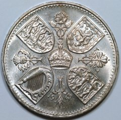 Reverse of 1953 Crown