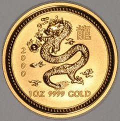 2000 Year of the Dragon Coin